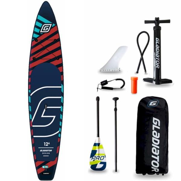 "Gladiator Pro DSGN 12'6"" S x 30"" SUP Board Set 2021"