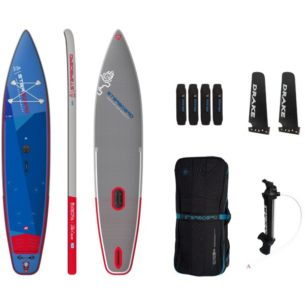 """Starboard 12'6"""" x 30"""" Touring Deluxe SC Inflatable WindSUP Board 2021"""