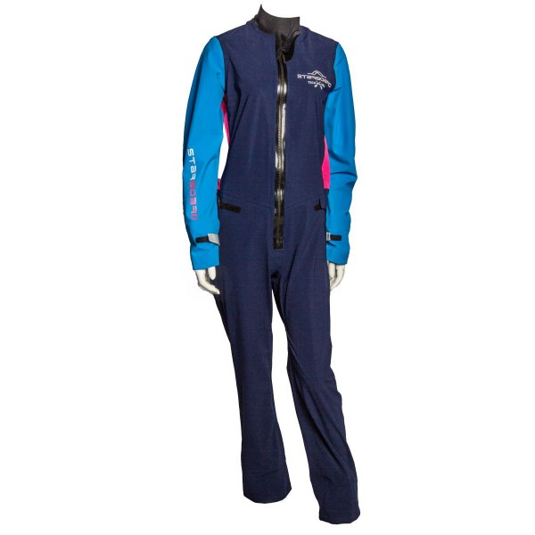 Starboard Womens All Star SUP Suit Damen SUP Trockenanzug blau