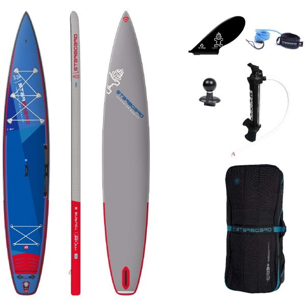 "Starboard 14'0"" x 28"" Touring Deluxe S SC iSUP Board 2021"