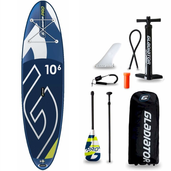 "Gladiator Pro 10'6"" x 32"" SUP Board Set 2021"