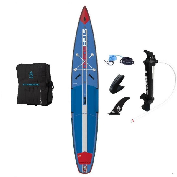 "Starboard SUP 12'6"" x 27"" All Star Airline Deluxe Inflatable SUP 2020"