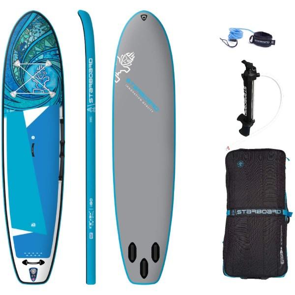 "Starboard 11'2"" x 31"" iGo Tikhine Wave Deluxe SC iSUP Board 2021"
