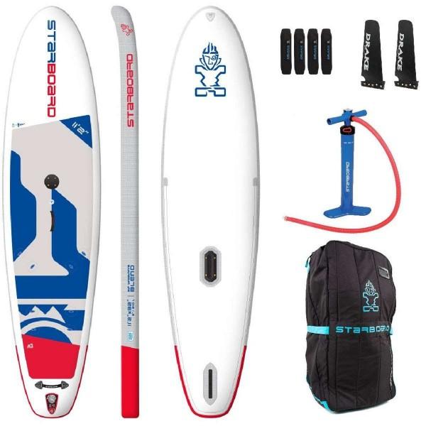 "Starboard 11'2"" x 32"" Windsurfing Blend Zen SUP Board 2020"