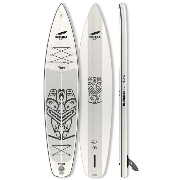 """Indiana Touring 12'6"""" x 31"""" Inflatable SUP 2019"""