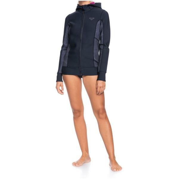 Roxy Syncro FZ JK HD Damen Neoprenjacke schwarz