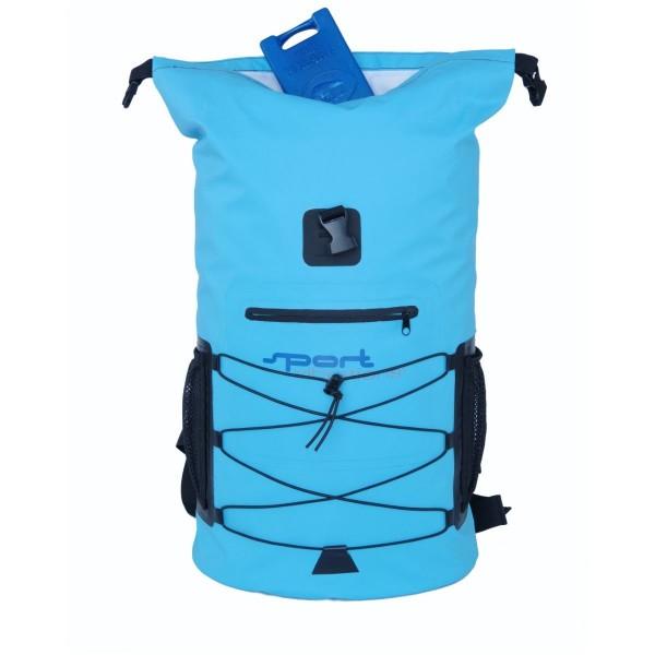 Sport Vibrations Premium Dry Bag Rucksack 30l wasserdicht blau