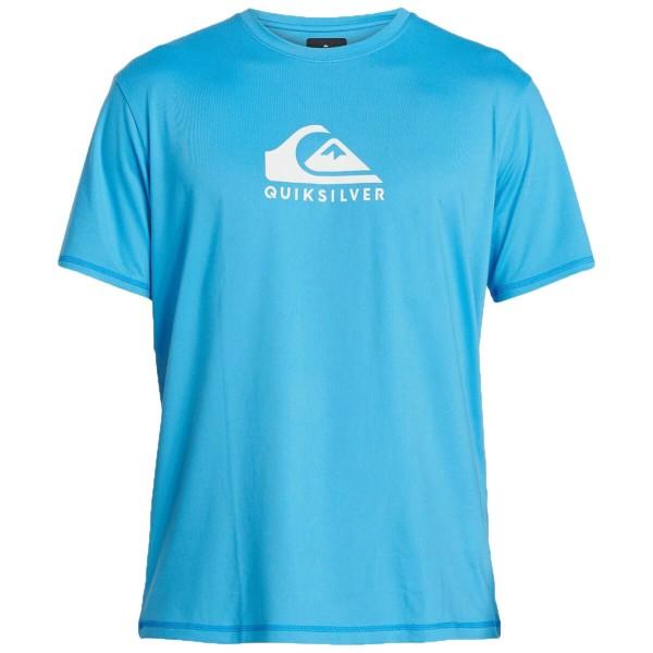 Quiksilver Solid Streak SS Funktionsshirt blau