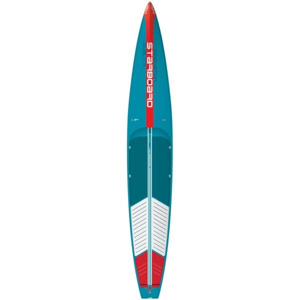 "Starboard 14'0"" x 26"" All Star Wood Carbon SUP Hardboard 2021 mit Boardbag"