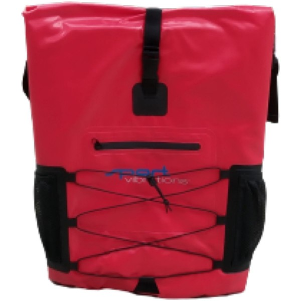 Sport Vibrations Premium Thermo-Dry Bag Rucksack 30l wasserdicht rot