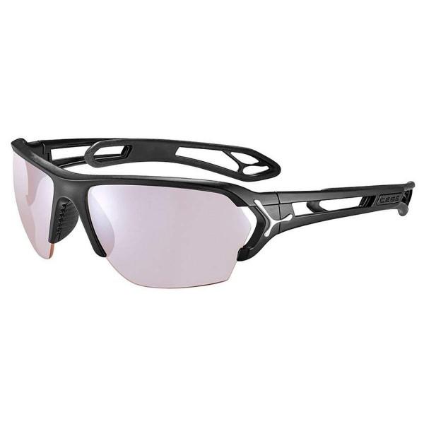 Cebe S Track L Sportbrille matt black silver