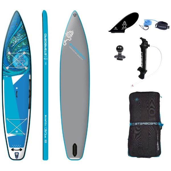 """Starboard 12'6"""" x 30"""" Touring Tikhine Wave Deluxe SC iSUP Board 2021"""