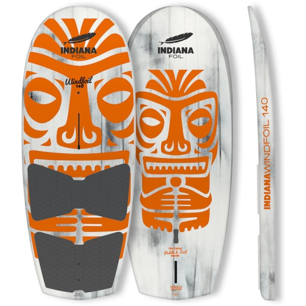 Indiana 140 Wind Wing Board inkl. Fins und 4 Footstraps SUP Board 2021