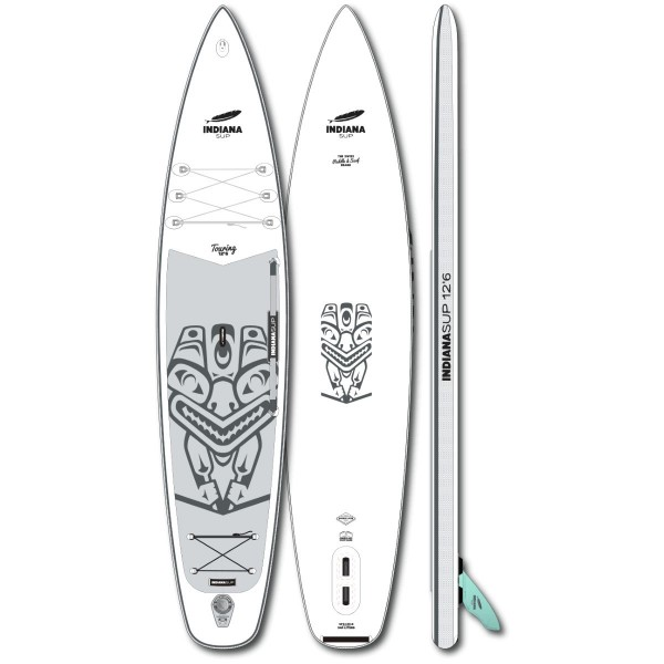 """Indiana 12'6"""" x 31"""" Touring Inflatable SUP Board 2021"""