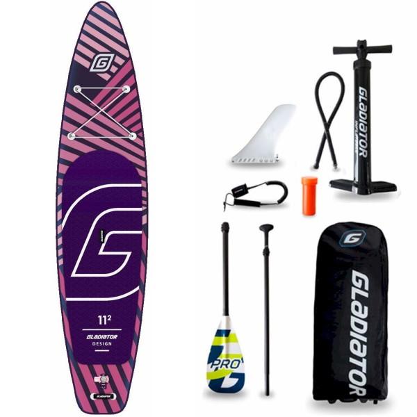 "Gladiator Pro DSGN 11'2"" x 31"" SUP Board Set 2021"