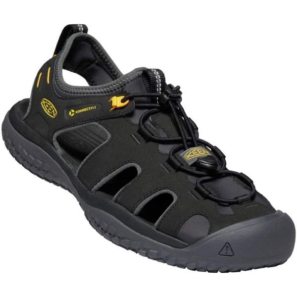 Keen Solr Sandal Sandalen schwarz