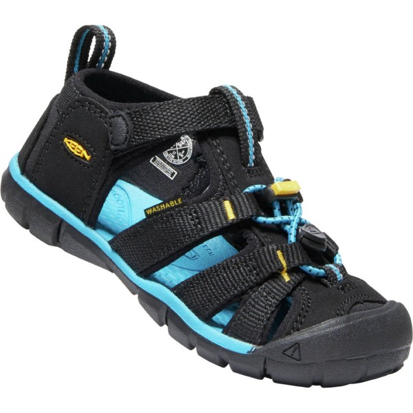 Keen Seacamp II CNX Kinder Sandalen schwarz gelb