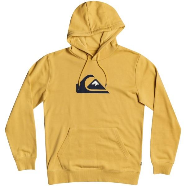Quiksilver Comp Logo Kapuzenpullover gelb