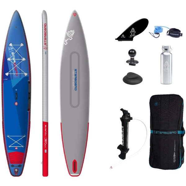 """Starboard 14'0"""" x 30"""" Touring Deluxe DC iSUP Board 2021"""