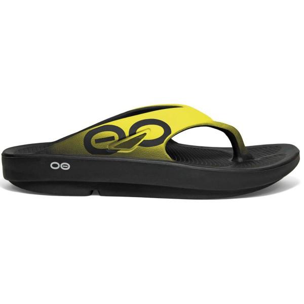 OOFOS Ooriginal Sport Regenerations Sandalen gelb