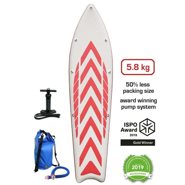 "Airboard Hike Ultralight Red 9'9"" x 31"" SUP Board 2020"