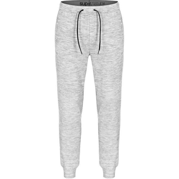 Super.Natural M City Cuffed Merino Jogginghose grau