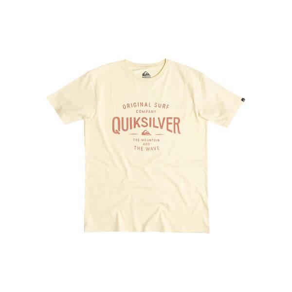Quiksilver Classic Tee Claim IT T-Shirt gelb