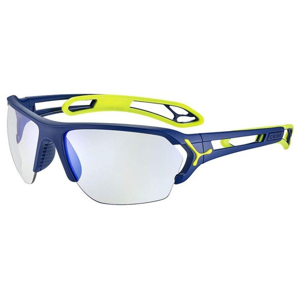 Cebe S Track L Sportbrille matt navy lime