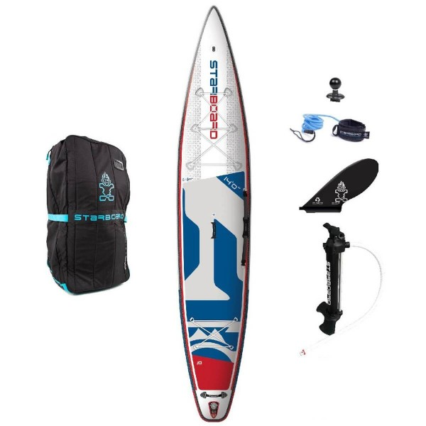 """Starboard SUP 14'0"""" x 30"""" Touring Deluxe SC Inflatable SUP 2020"""