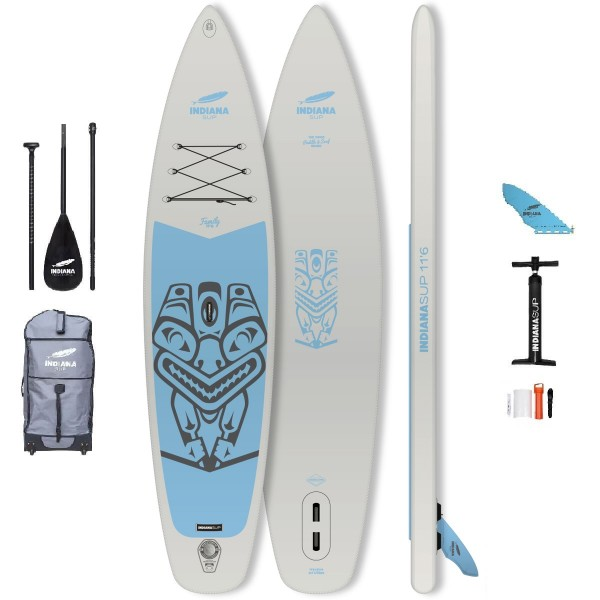 """Indiana Family Pack 11'6"""" x 31"""" SUP Board Set 2020"""