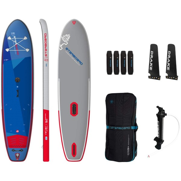 "Starboard 11'2"" iGo WindSUP Deluxe SC Inflatable WindSUP Board 2021"