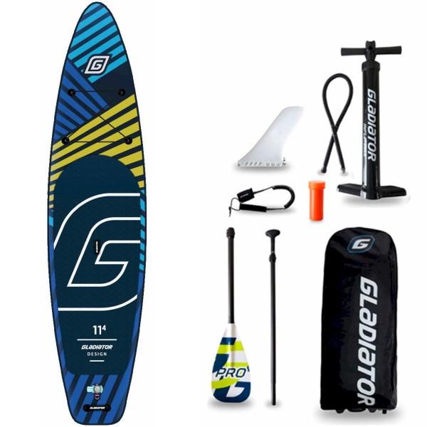 "Gladiator Pro DSGN 11'4"" x 32"" SUP Board Set 2021"