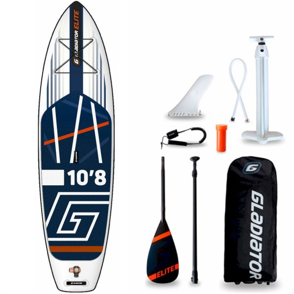 "Gladiator Elite 10'8"" x 34"" SUP Board Set 2021"