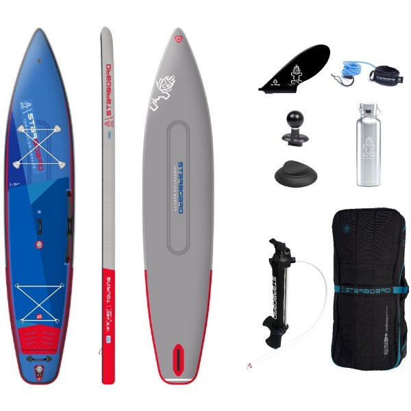 """Starboard 12'6"""" x 30"""" Touring Deluxe DC iSUP Board 2021"""