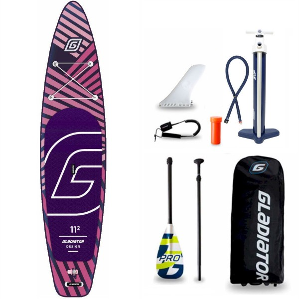 "Gladiator Pro DSGN 11'2"" x 30"" SUP Board Set 2021-ReSale"