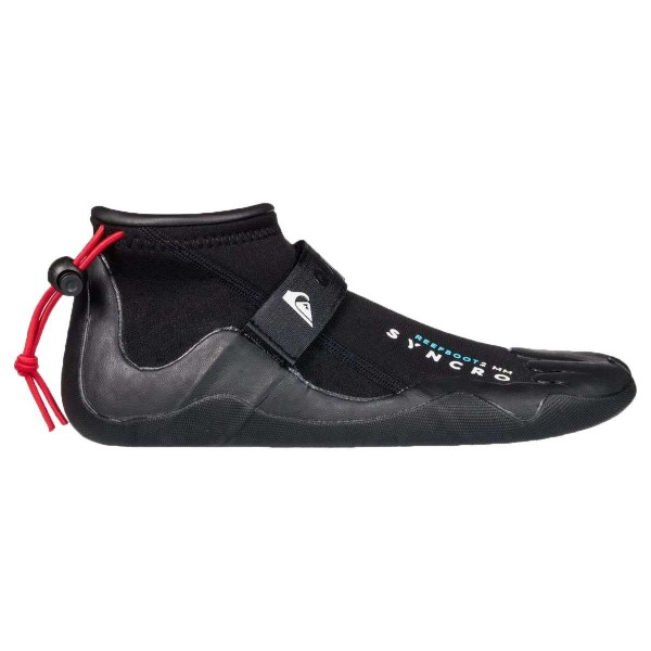 Quiksilver 2.0 Syncro Reef Round Toe Boots Neoprenschuhe schwarz