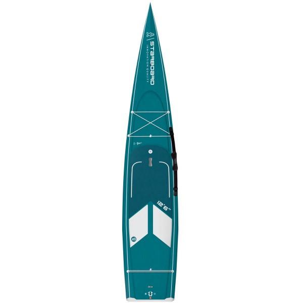 "Starboard 12'6"" x 28"" Water Line Carbon Top SUP Hardboard 2021"