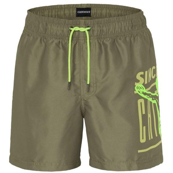 Chiemsee Tiger Shark Swim Shorts grün