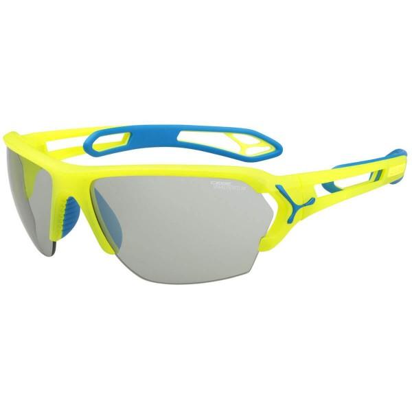 Cebe S Track L Matt Yello Blue Sportbrille gelb