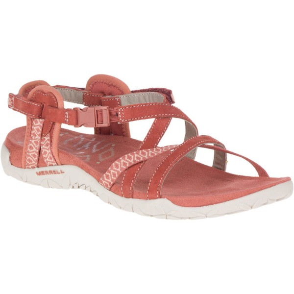 Merrell Terran Lattice II Damen Sandalen rot