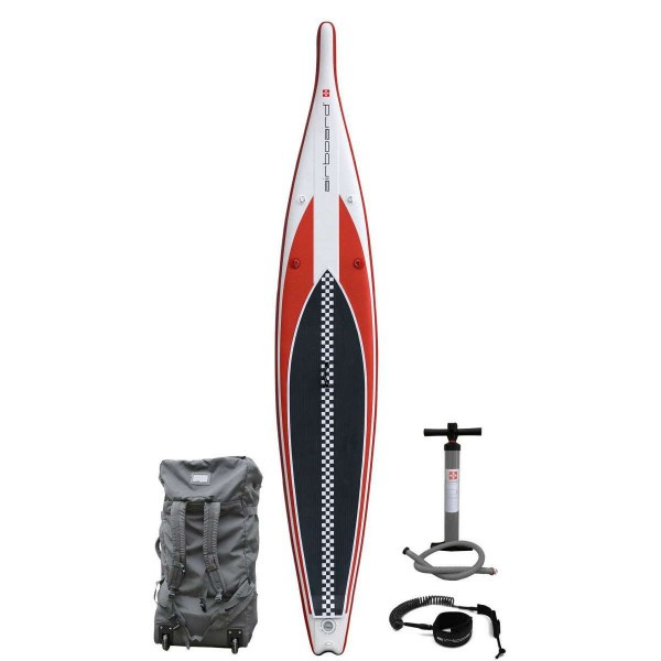 """Airboard Rocket Red 14'0"""" x 27"""" SUP Board 2020"""