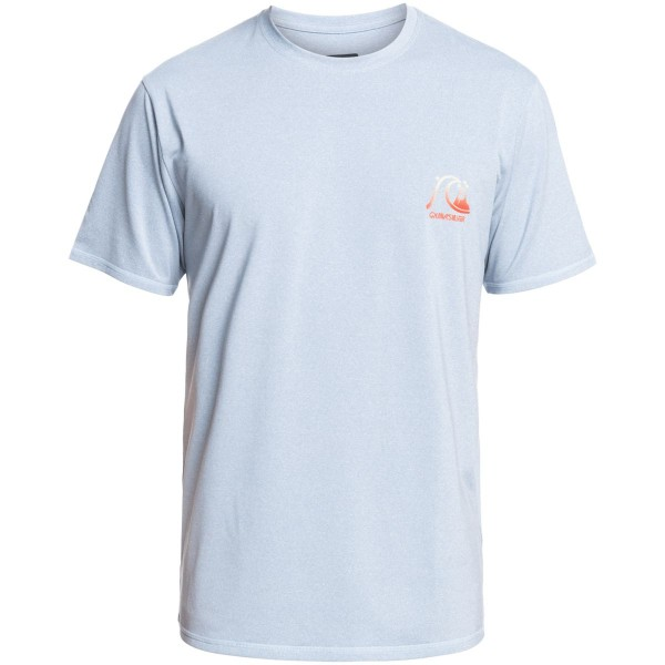 Quiksilver Heritage Heather SS Funktionsshirt hellblau