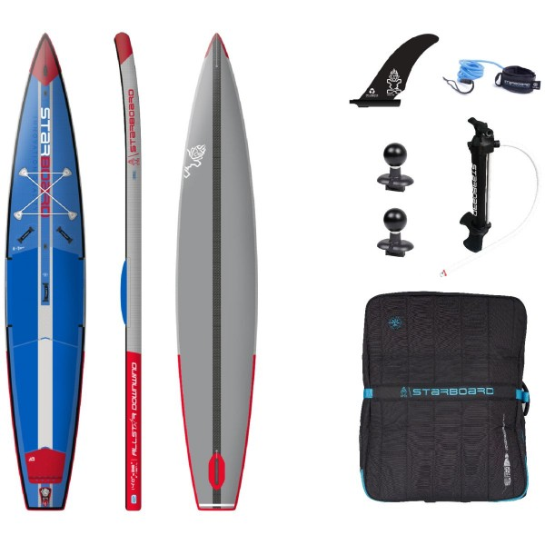 """Starboard 14'0"""" x 28"""" All Star Airline Downwind SC iSUP Board 2021"""