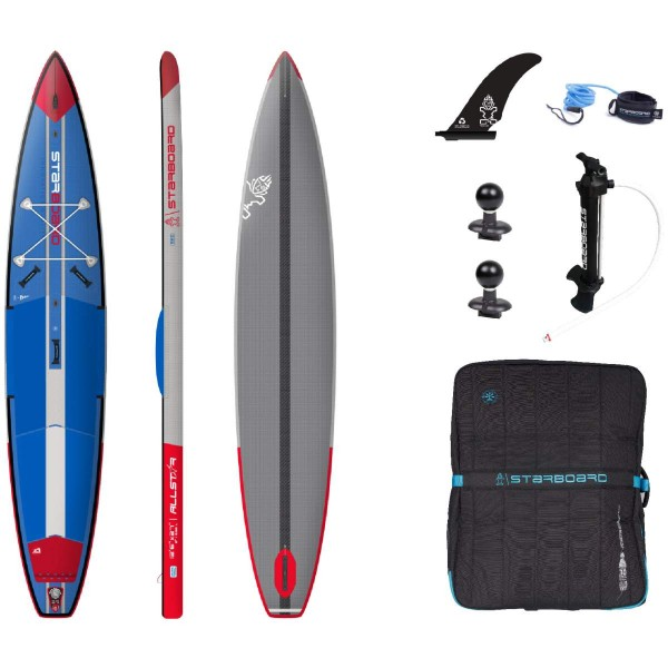 """Starboard 12'6"""" x 27"""" All Star Airline Deluxe SC iSUP Board 2021"""
