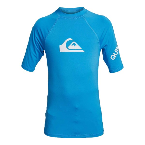 Quiksilver All Time SS Youth Kinder Funktionsshirt blau
