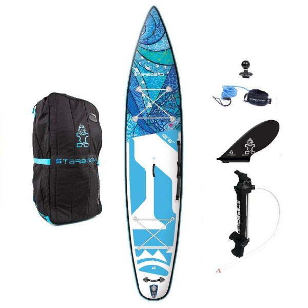 "Starboard SUP 12'6"" x 30"" Touring Tikhine Wave Deluxe SC Damen Inflatable SUP 2020"