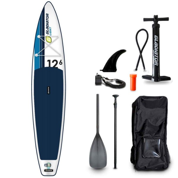 "Gladiator LT 12'6"" T x 32"" SUP Board Set 2021"