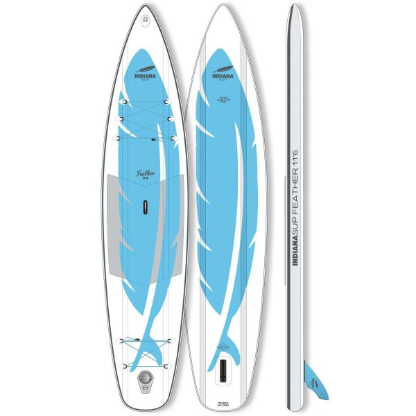 "Indiana Feather 11'6"" x 30"" SUP Board 2020"