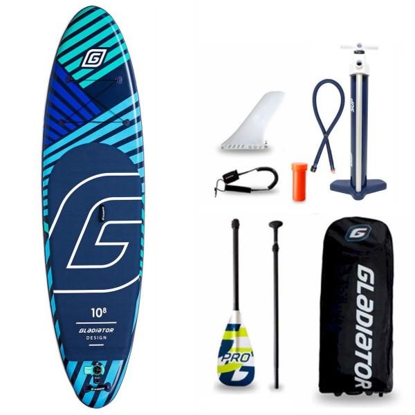 "Gladiator Pro DSGN 10'8"" x 34"" SUP Board Set 2021"