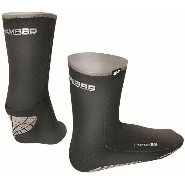 Camaro Titanium Thermo Socks 2.5 Neopren Socken
